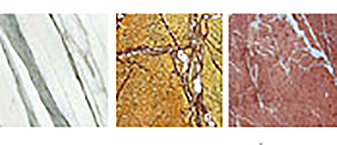Marble examples.